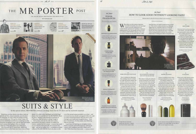 Well done mr porter for Mister porter