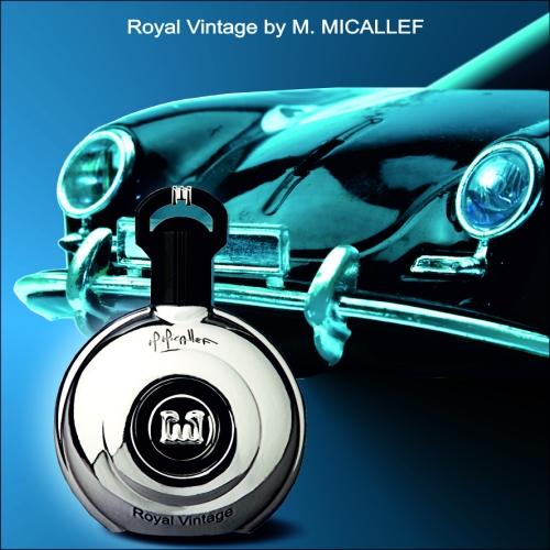 ROYAL VINTAGE bottle with car