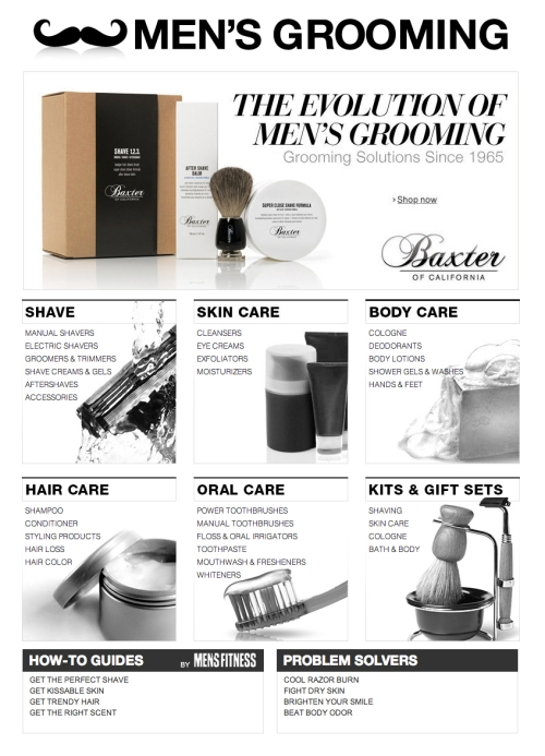Amazon Mens Grooming Store