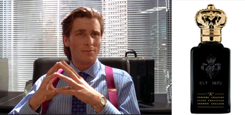 Patrick Bateman is Greed